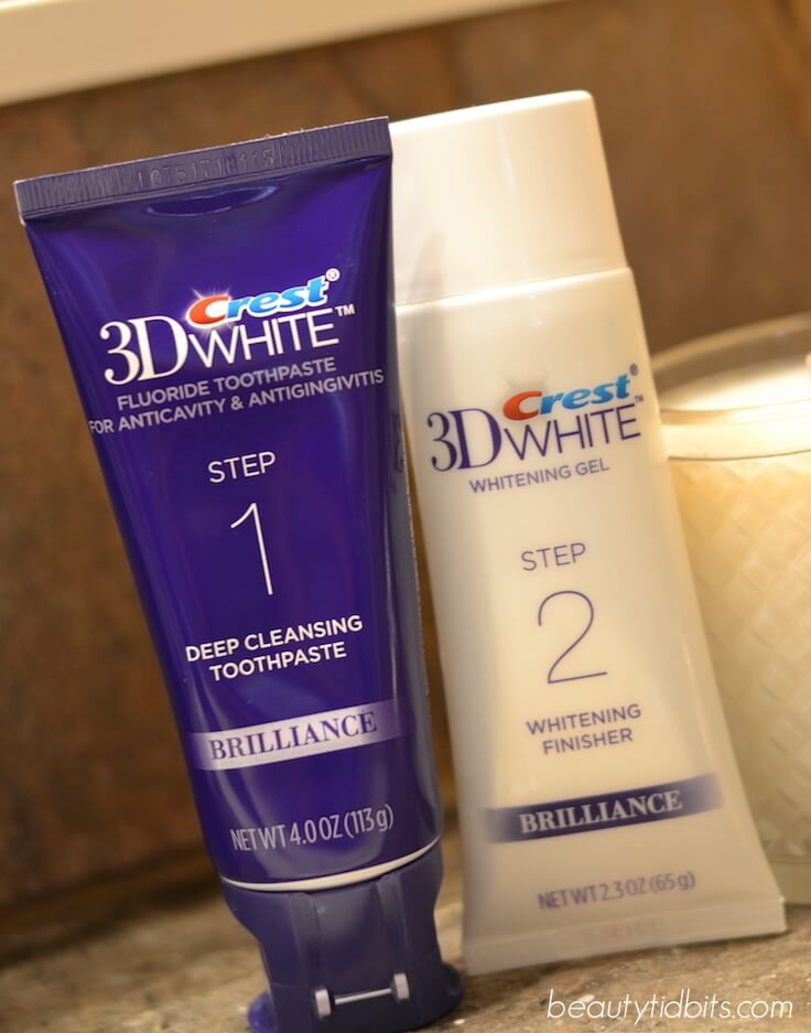 Crest 3D White Brilliance Toothpaste and Whitening Finisher