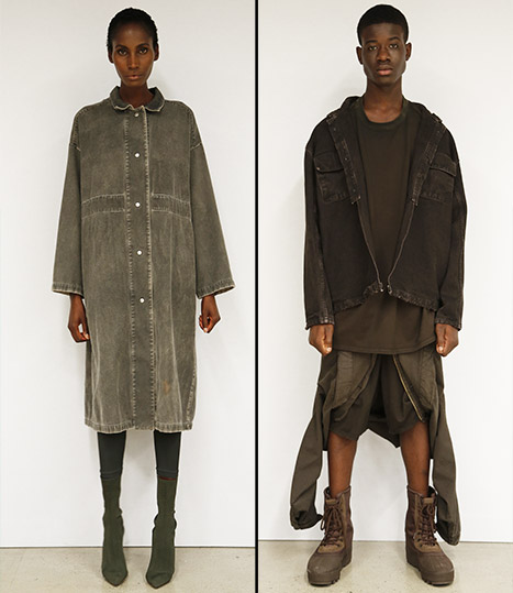 Kanye West's Yeezy Season 2 was military-inspired.
