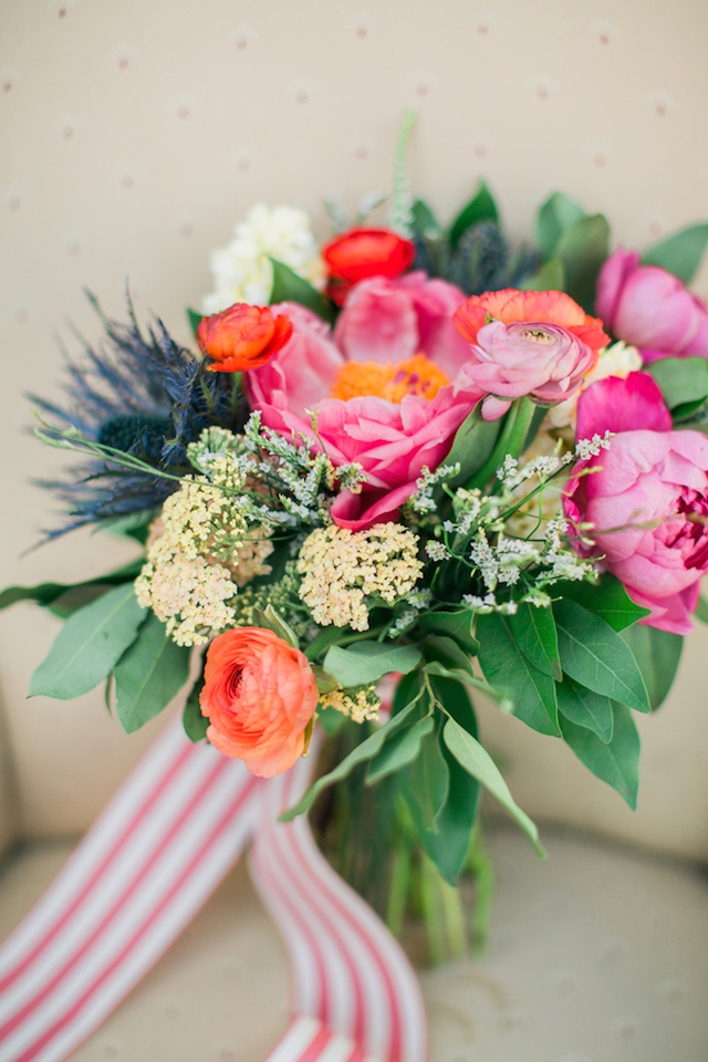 Pink peony bridal bouquet | Sweetness and Light Photography | see more on: http://burnettsboards.com/2015/09/host-networking-party/