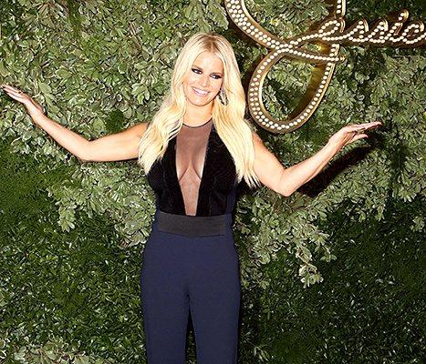 Jessica Simpson attends Jessica Simpson Collection Presentation during Spring 2016 New York Fashion Week at Tavern on the Green on September 9, 2015 in New York City.