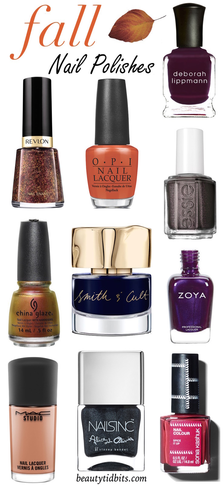 10 Hot Nail Polish Colors to Try This Fall | Beauty