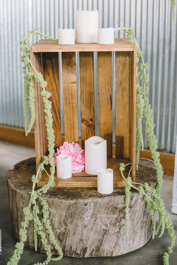 ceremony decor - photo by Sterling Imageworks http://ruffledblog.com/rainy-wedding-day-turned-day-after-session