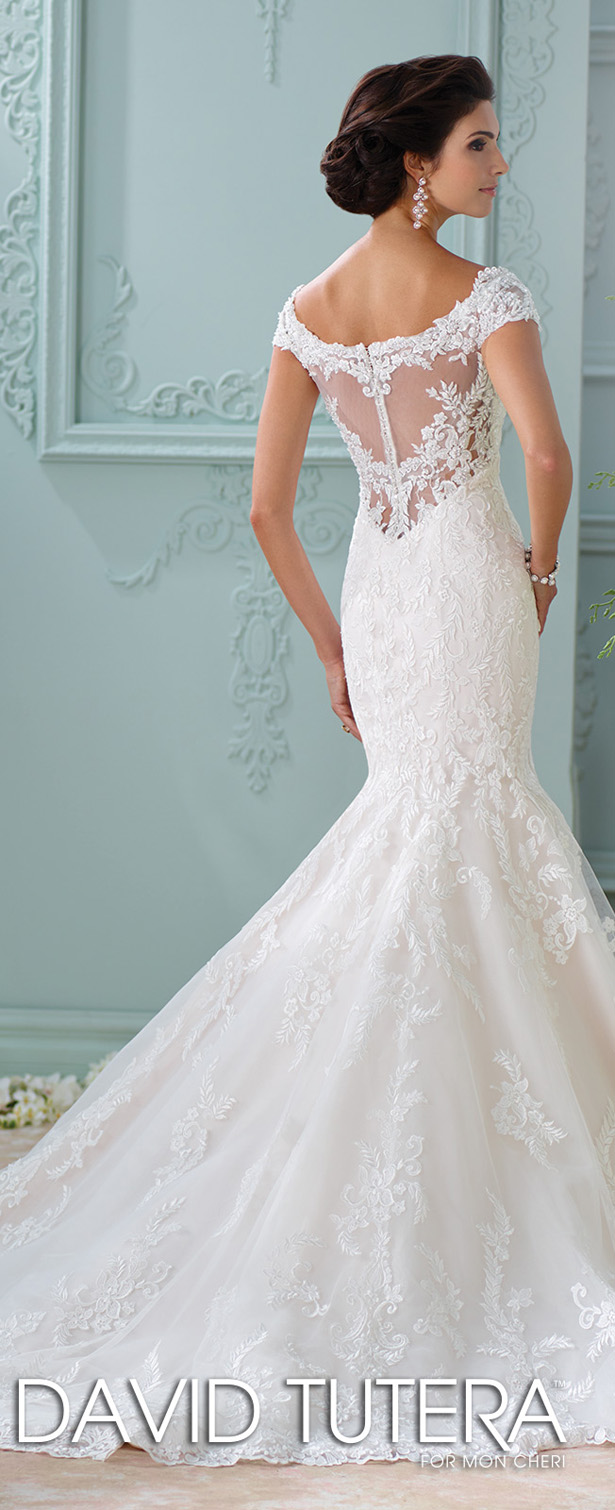 ... David Tutera For Mon Cheri Spring 2016 Wedding Dress ...