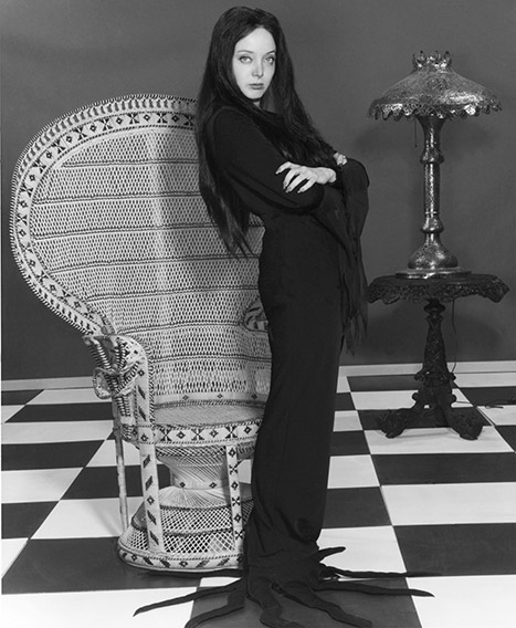 Morticia Addams from The Addams Family.