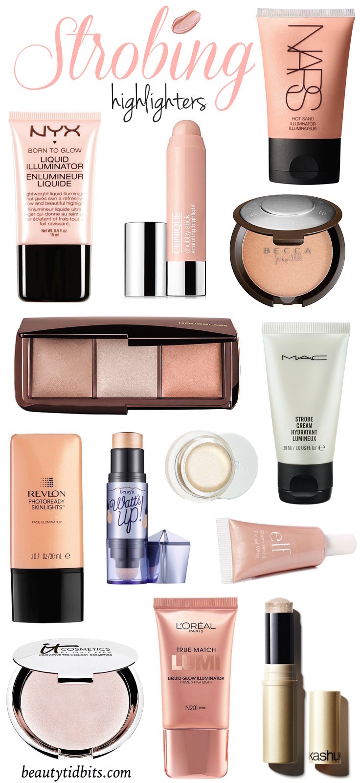 The Best Highlighting Products for Strobing!