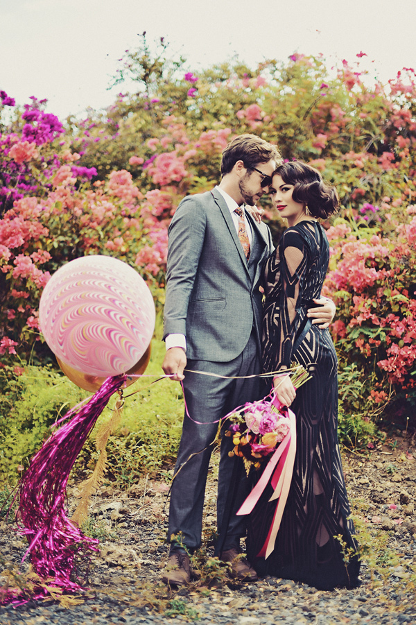 inspired by color wedding ideas - photo by Tamiz Photography http://ruffledblog.com/inspired-by-color-wedding-ideas