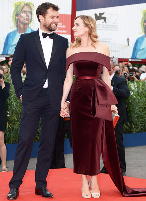 Longtime couple Joshua Jackson and Diane Kruger attended the Venice Film Festival's premiere of Black Mass on Sept. 4.