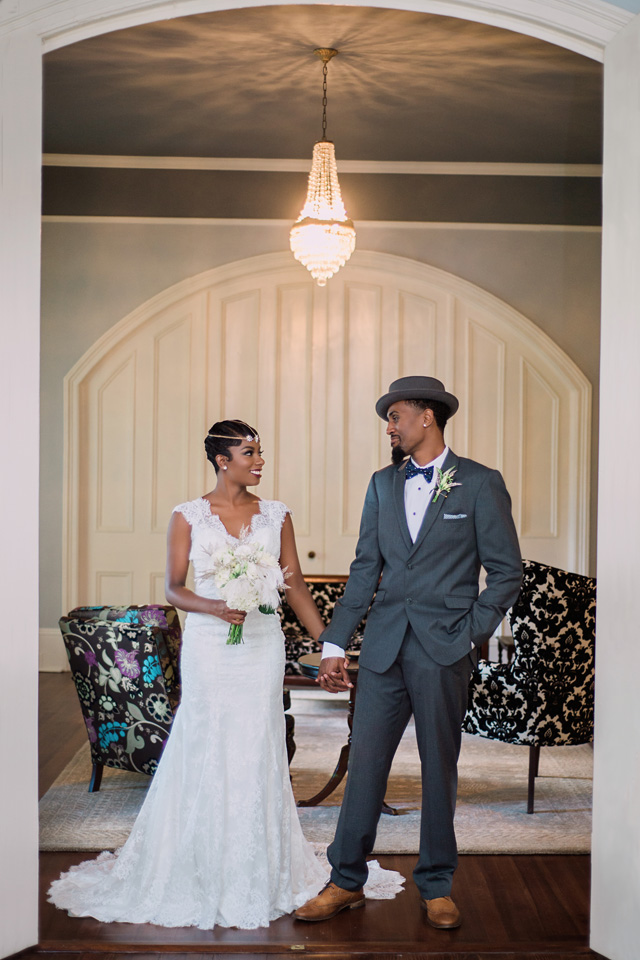 Art deco wedding ideas | Sarah Hooker Photography | see more on: http://burnettsboards.com/2015/09/art-deco-wedding-asheville/