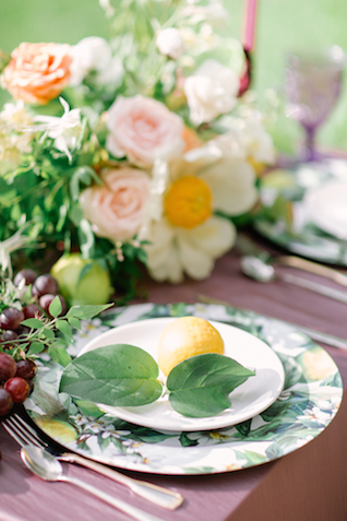 Lemon and lilac wedding inspiration | Olga Siyanko | see more on: http://burnettsboards.com/2015/09/lilac-lemon/