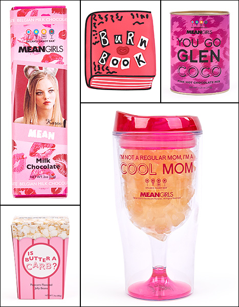 Select pieces from the Dylan's Candy Bar Mean Girls collection.