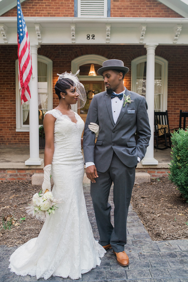 Asheville wedding | Sarah Hooker Photography | see more on: http://burnettsboards.com/2015/09/art-deco-wedding-asheville/
