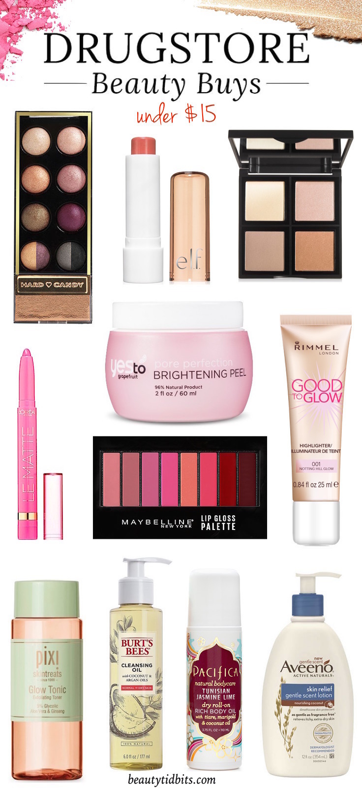 The latest in drugstore beauty is right here! Check out these hot new drugstore picks that deliver a boost of radiance and perfect your complexion!