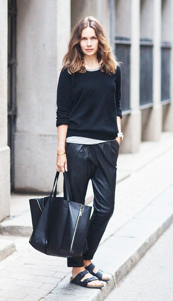 Stylish Shoes with Baggy Pants (2)