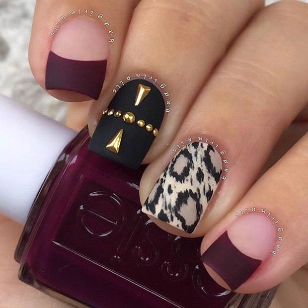 25 Matte Nail Designs You\'ll Want to Copy this Fall | Beauty