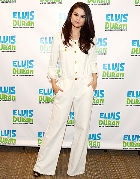 Selena Gomez visits The Elvis Duran Z100 Morning Show in New York City on October 13, 2015