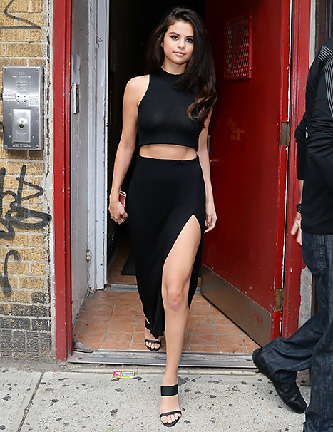 Selena Gomez in New York City on October 13, 2015