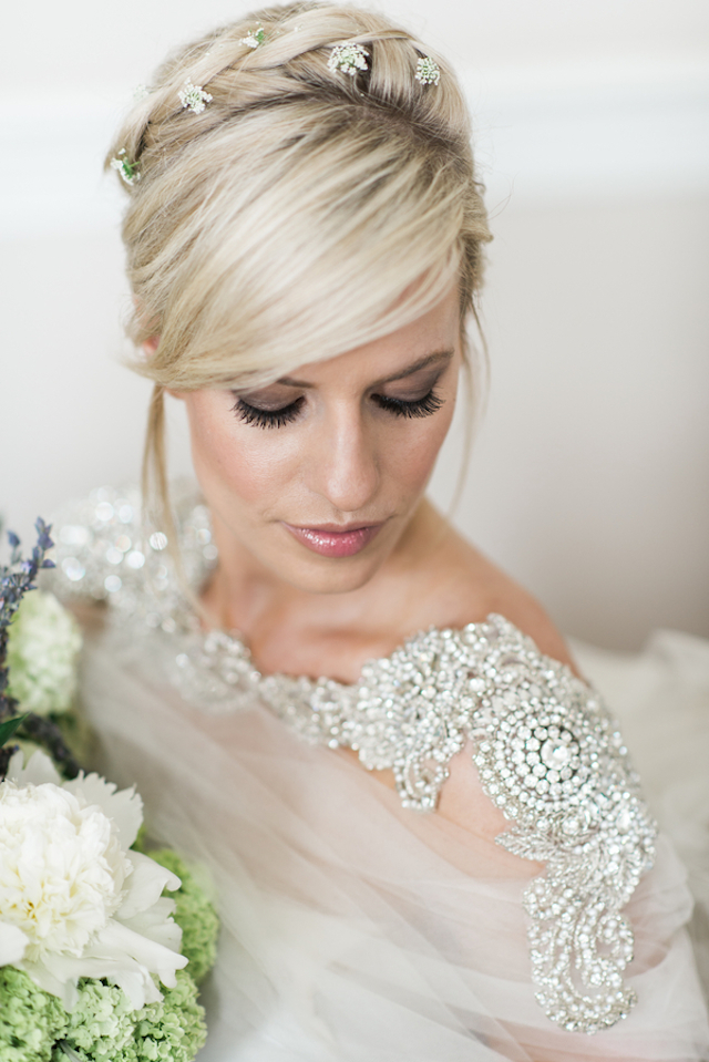Braided hair crown | Joy Michelle Photography | see more on: http://burnettsboards.com/2015/10/windswept-wedding-inspiration/