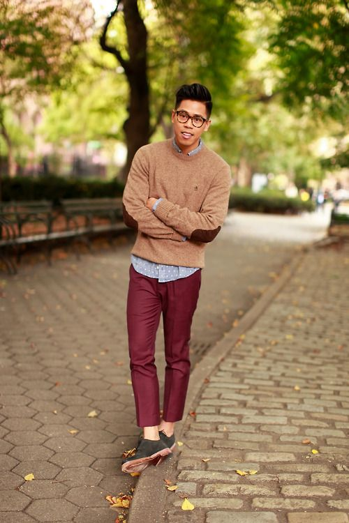 preppy winter outfits for men 15
