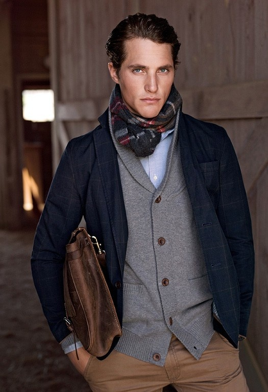 preppy winter outfits for men 4