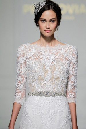 PRONOVIAS BRIDAL 2016 NEW YORK BRIDAL FASHION WEEK