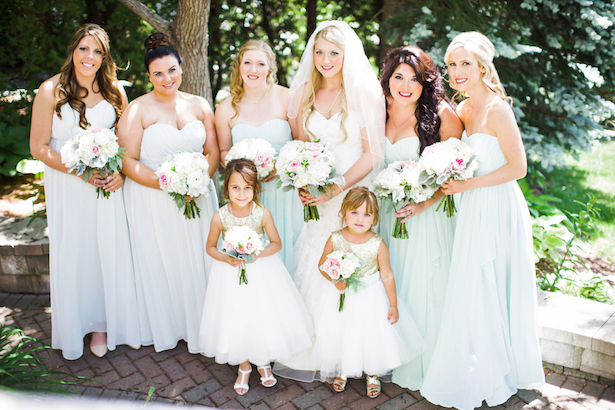 Mint #Bridesmaid Dresses - Caroline Ross Photography