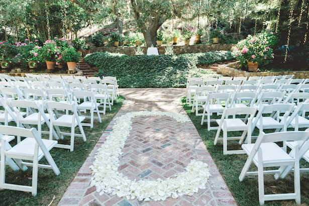 Wedding Aisle Decor -Wedding first look -Michael Anthony Photography