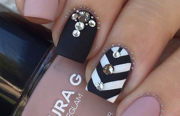25 matte nail designs youll want to copy this fall beauty prinsesfo Gallery