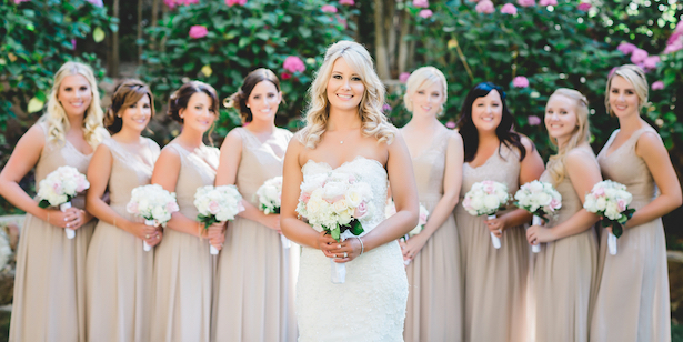 Bridal Party -Wedding first look -Michael Anthony Photography