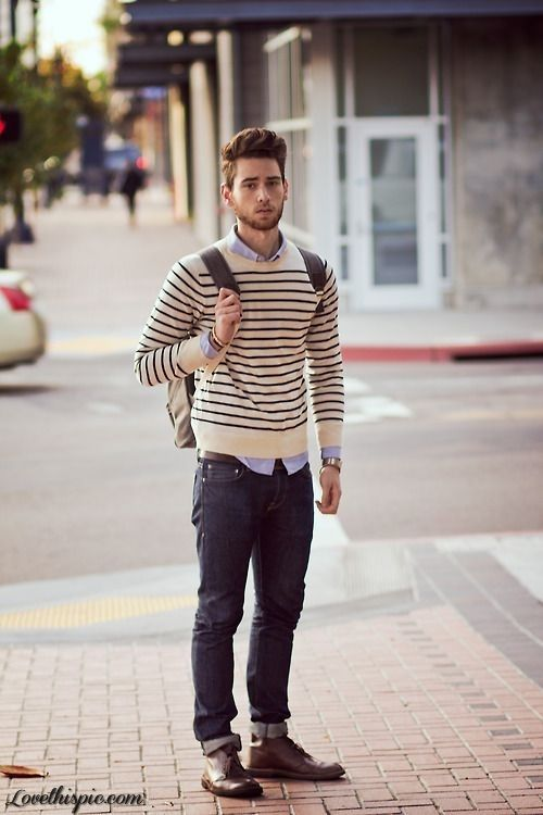 preppy winter outfits for men 5