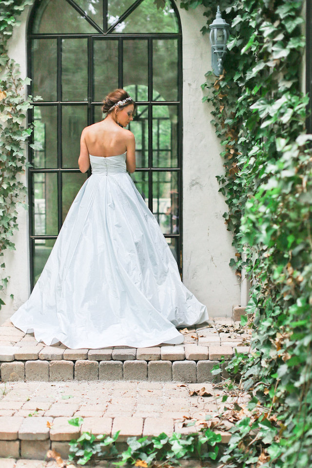 Anne Barge powder blue wedding dress | Ivy & Stone Photography | see more on: http://burnettsboards.com/2015/11/world-european-romance-themed-wedding/