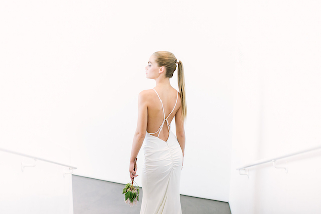Nicole Miller wedding dress | Canary Grey and a&bé bridal boutique | see more on: http://burnettsboards.com/2015/11/incredible-wedding-dresses/