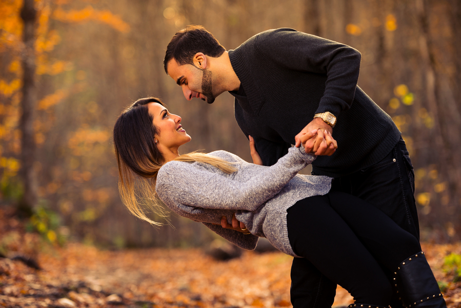 Autumn Engagement Pictures - Nick Ghattas Photography