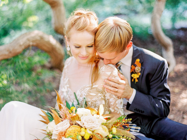 wedding photography - photo by Love by Serena http://ruffledblog.com/copper-and-slate-autumn-inspiration-shoot