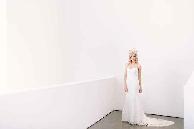 Anna Maier wedding dress | Canary Grey and a&bé bridal boutique | see more on: http://burnettsboards.com/2015/11/incredible-wedding-dresses/