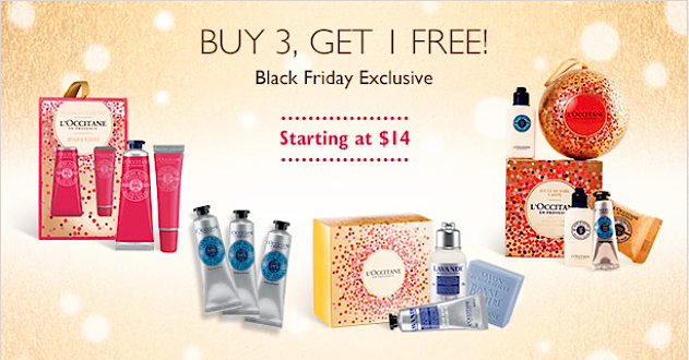 Loccitane black friday sale