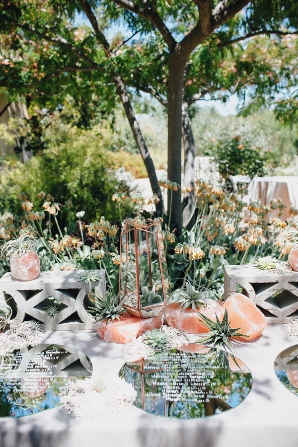 modern wedding inspiration - photo by Marble Rye Photography http://ruffledblog.com/desert-dance-party-wedding-in-ojai