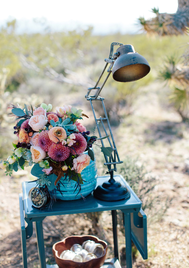 Mid-century modern wedding details | M. Felt Photography | see more on: http://burnettsboards.com/2015/11/mid-century-modern-southwestern-wedding/