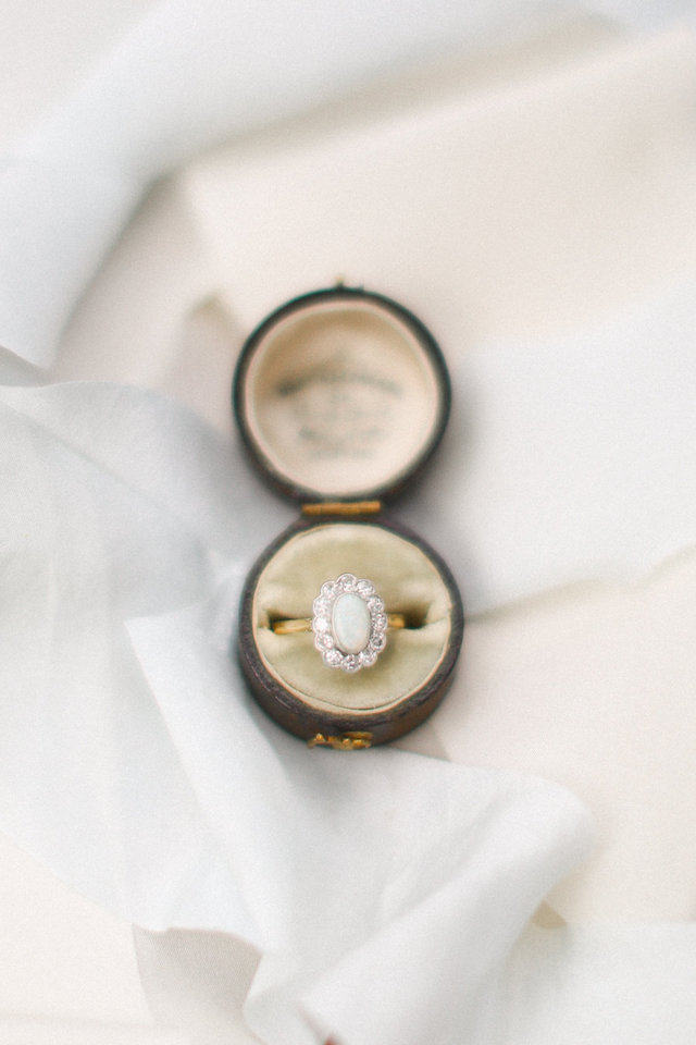 Vintage Trumpet and Horn ring | Ivy & Stone Photography | see more on: http://burnettsboards.com/2015/11/world-european-romance-themed-wedding/
