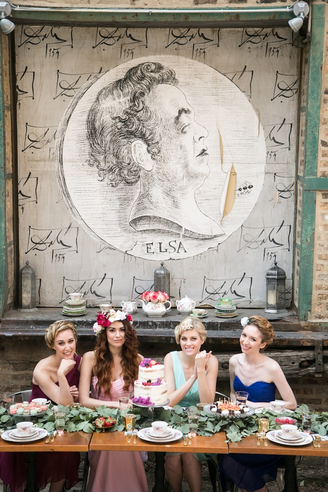 Boho bridal shower ideas | K+B Photo | see more on: http://burnettsboards.com/2015/11/fun-flirty-bridal-shower/