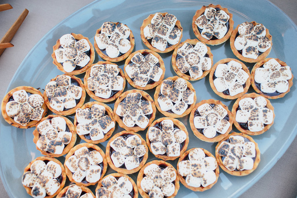wedding smores - photo by Marble Rye Photography http://ruffledblog.com/desert-dance-party-wedding-in-ojai