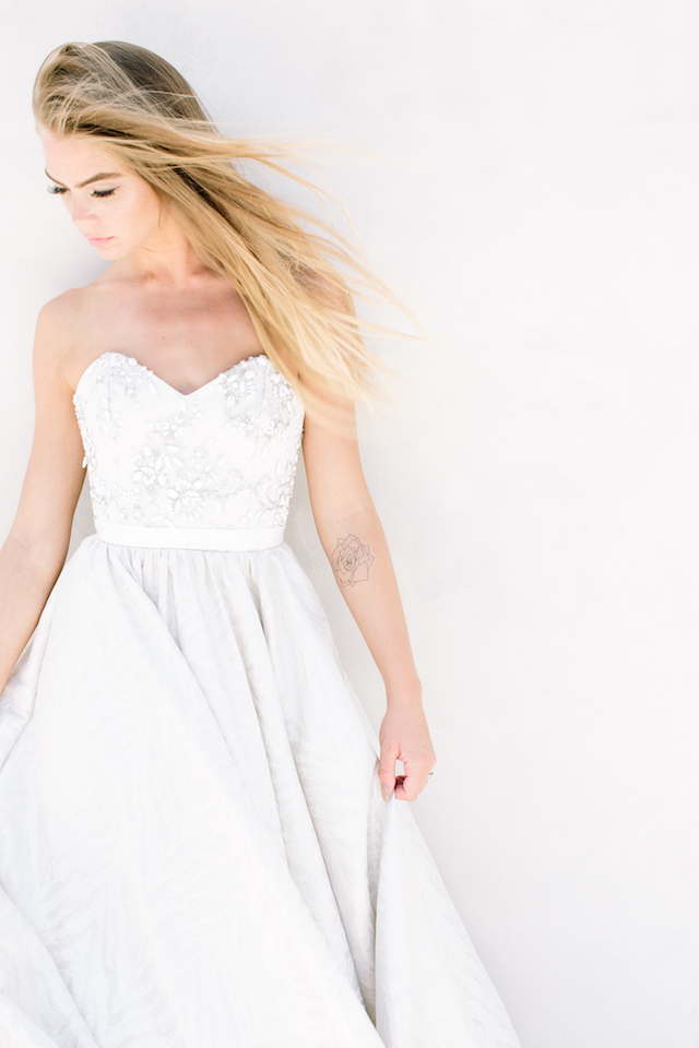 Truvelle wedding dress | Canary Grey and a&bé bridal boutique | see more on: http://burnettsboards.com/2015/11/incredible-wedding-dresses/