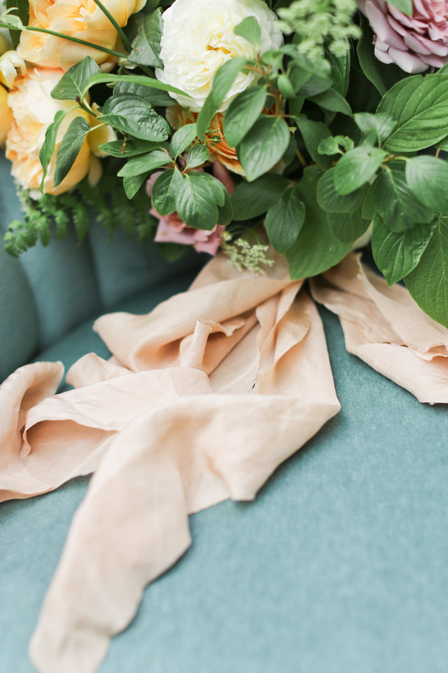 Silk and Willow ribbons | Ivy & Stone Photography | see more on: http://burnettsboards.com/2015/11/world-european-romance-themed-wedding/