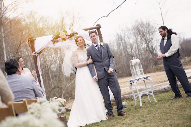 Outdoor Wedding Ceremony - Frozen Exposure Photography and Cinematography