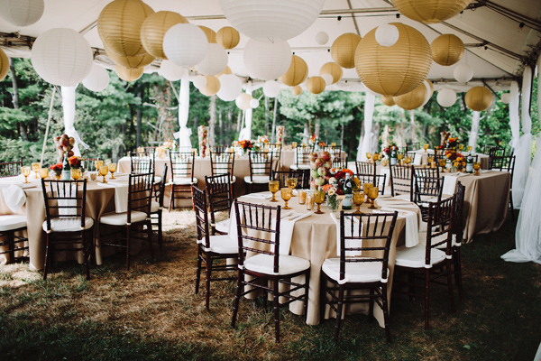 fall wedding - photo by With Love and Embers http://ruffledblog.com/valley-crest-farm-wedding