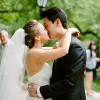 wedding kiss - CliffCphotography