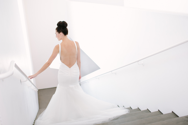 Katie May wedding dress | Canary Grey and a&bé bridal boutique | see more on: http://burnettsboards.com/2015/11/incredible-wedding-dresses/