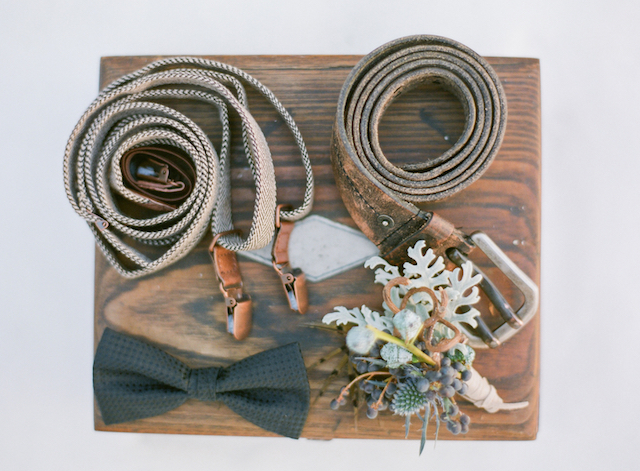 Groom's belts | Shannon Von Eschen Photography | see more on: http://burnettsboards.com/2015/12/grooms-shoot/