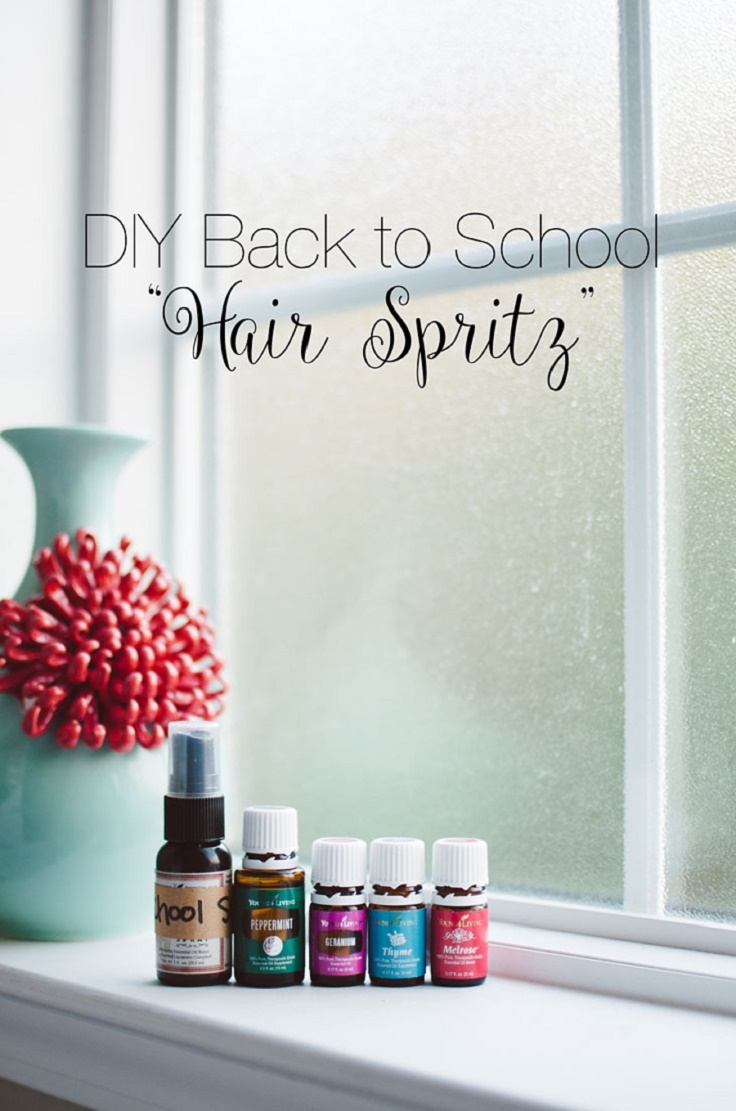 DIY hair spritz with Thyme Oil