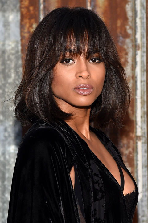 Ciara's Eye-Grazing Bangs