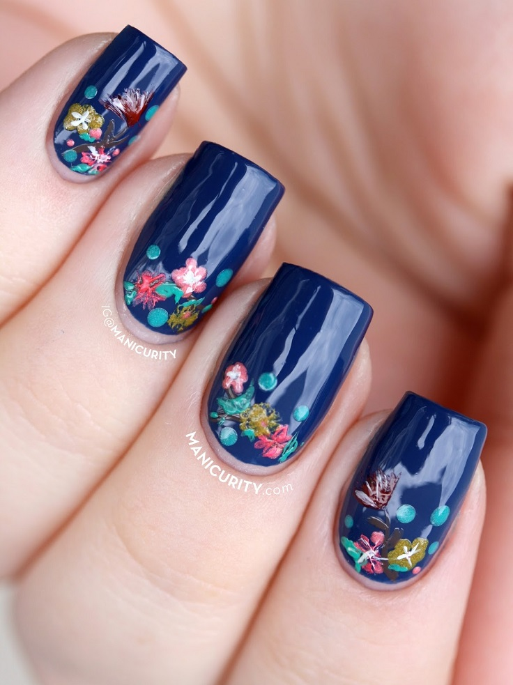 Top 10 Floral Nail Art You Are Going To Love Beauty